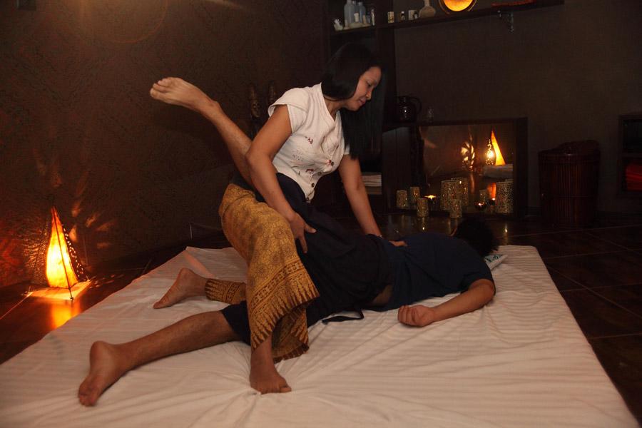Тайский массаж вибраторами 12 фотография